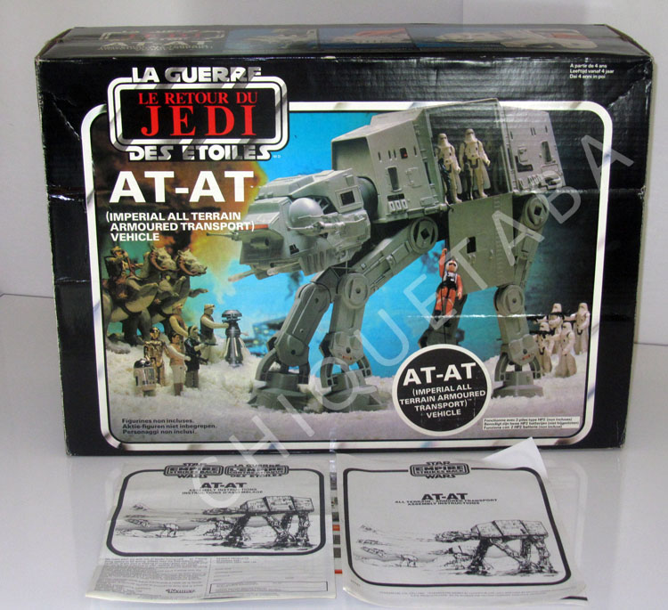 PROJECT OUTSIDE THE BOX - Star Wars Vehicles, Playsets, Mini Rigs & other boxed products  - Page 2 Atat_b22