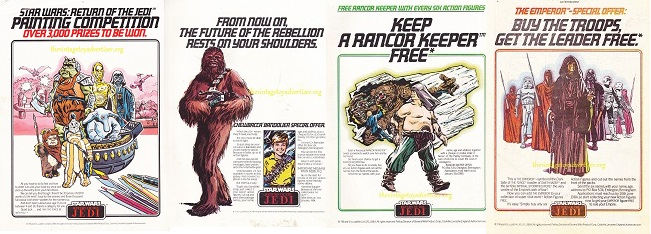 article: UK Star Wars ads: 1977 to 1984 - Palitoy (and friends) Rotj_q10