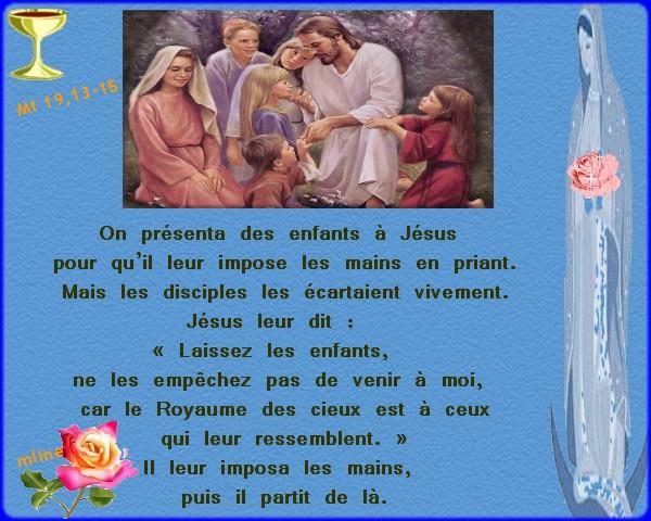 17 août 2013 Samedi, 19ème Semaine du Temps Ordinaire Les enfants et le Royaume des cieux Copie_10