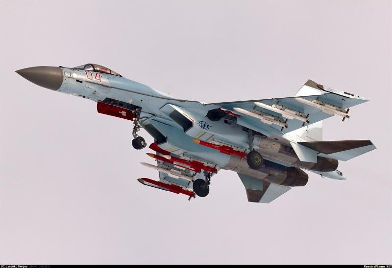IAF Su-30MKI vs PLAF Su-35S 09932510