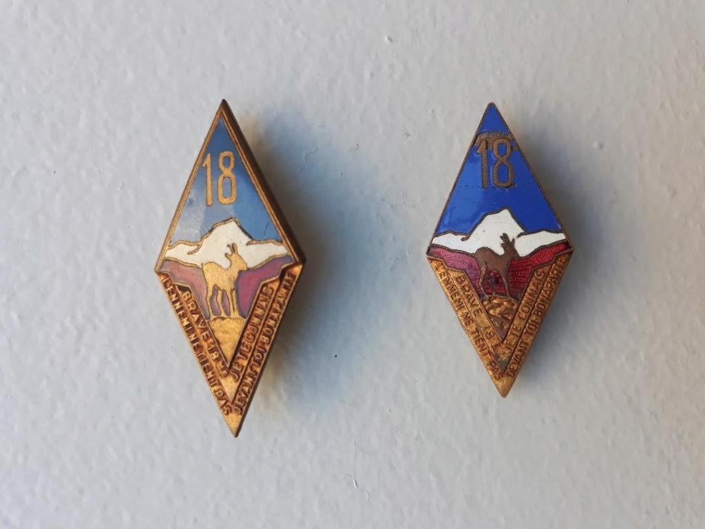 Quelques insignes du 18° Thumbn11