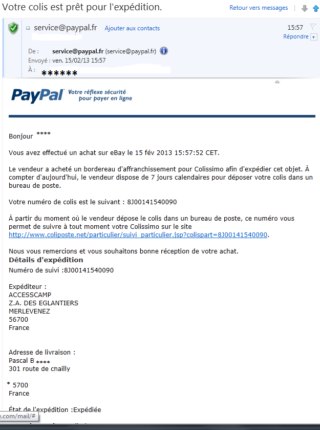Paypal Mail110
