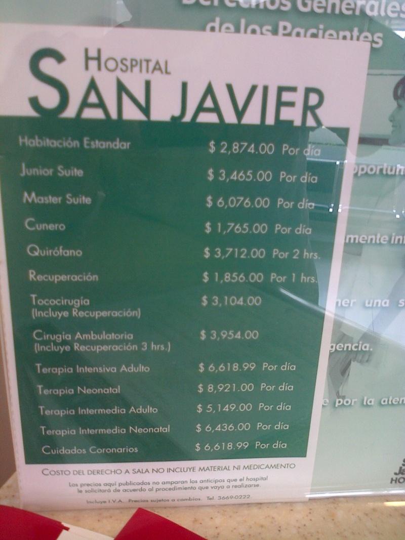 Hospital San Javier price list Img-2010
