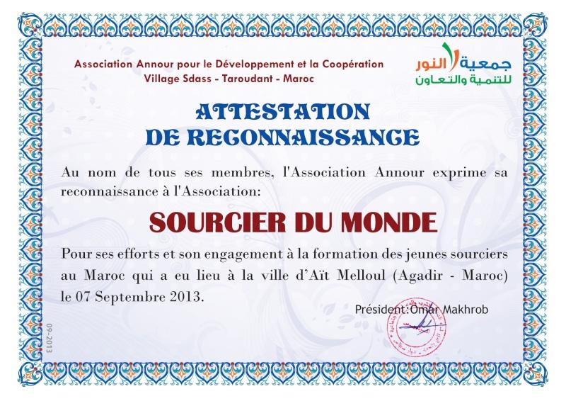 Voyage à Agadir - Page 2 Attest10