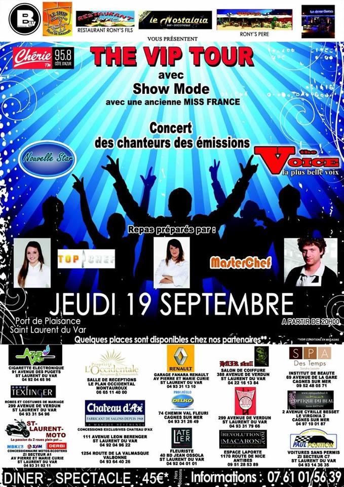(19/09/2013) : The VIP Tour à Saint Laurent du Var  11756910