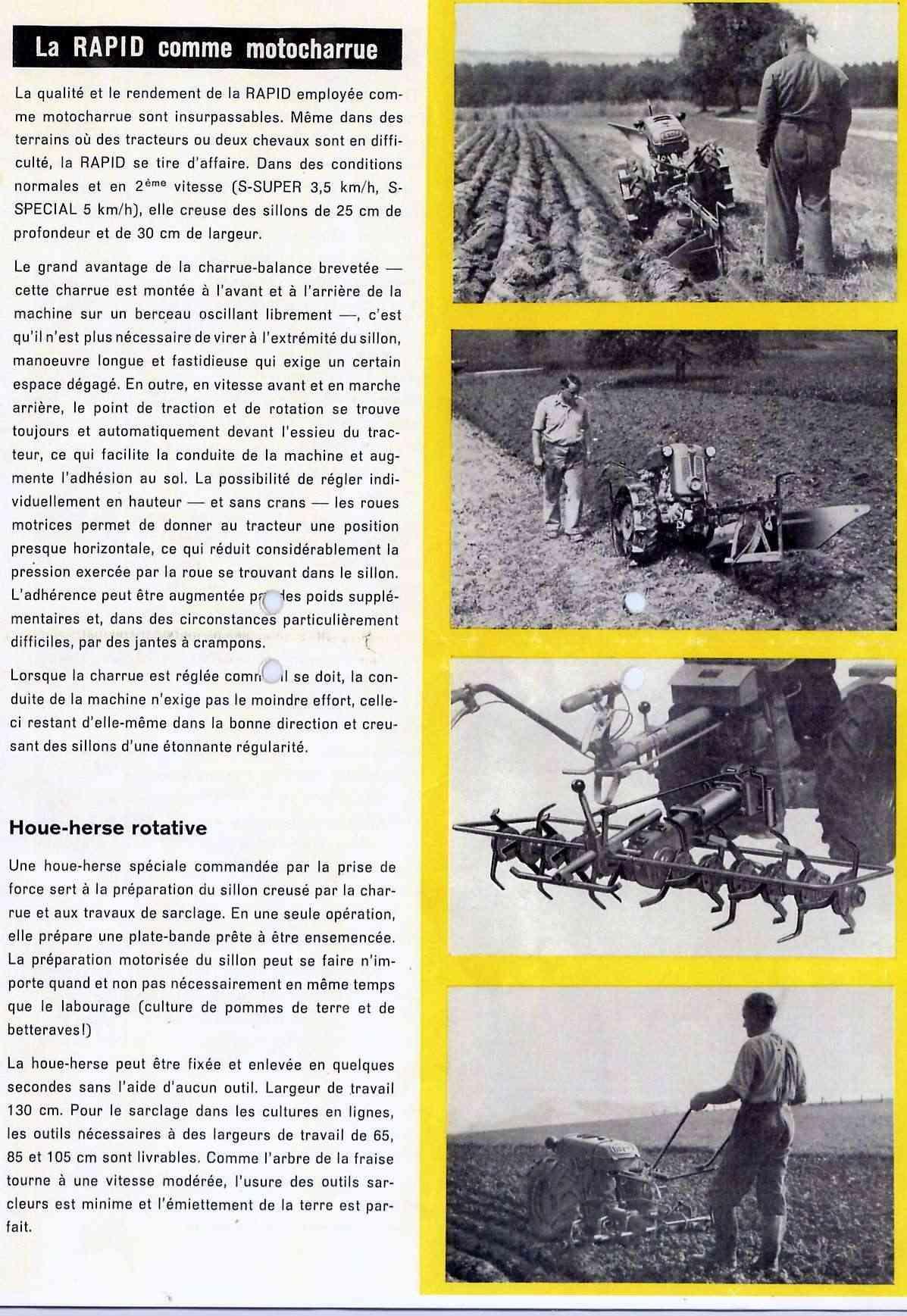 Notices Motoculture: Agria, Bernard, Bouyer, Ferrari, Goldoni, Honda, Kubota, Lombardini, Motostandard, Staub, Wolf ... 90387710