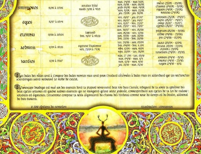 Calendrier celtique 0211
