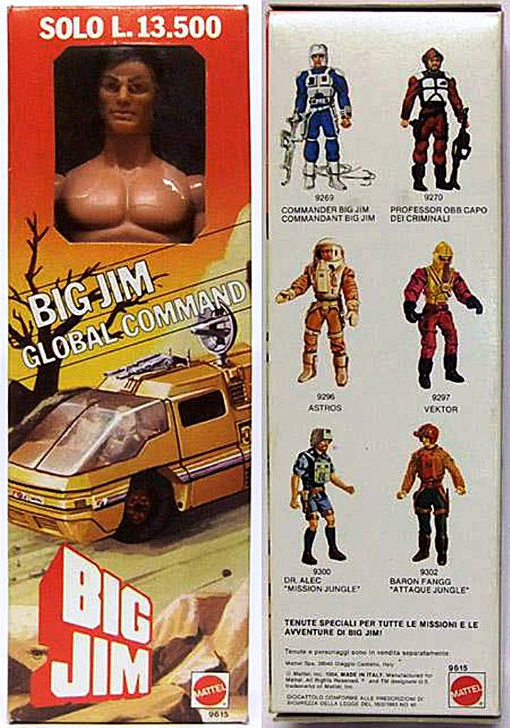 Big Jim Global Command  No. 9615 110