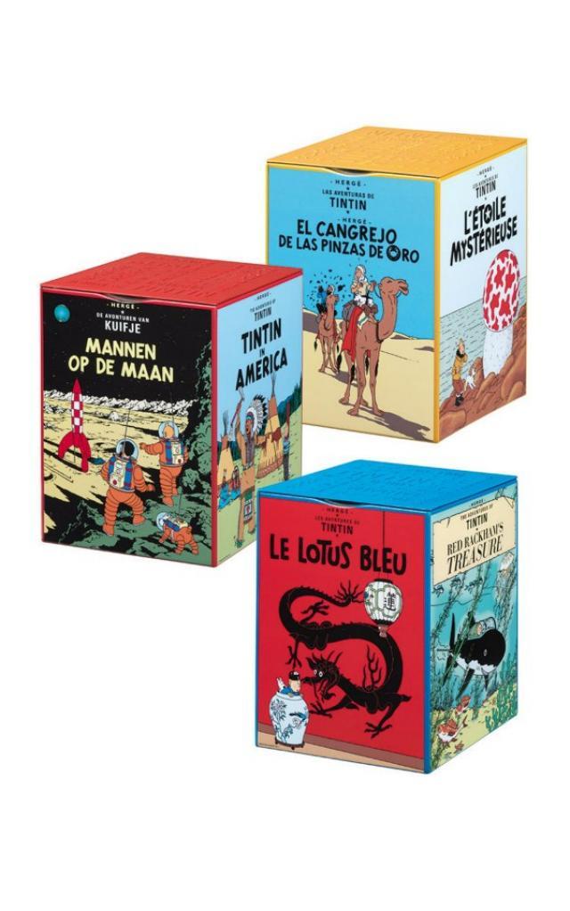 Boite de chocolat Jeff de Bruges Tintin Boites10
