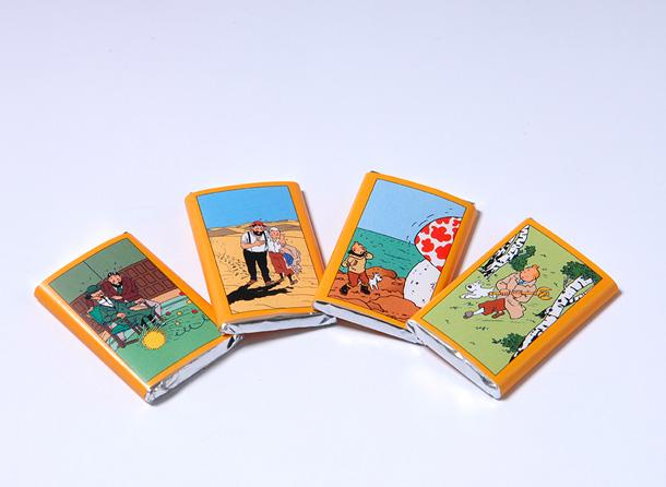 Boite de chocolat Jeff de Bruges Tintin Tablet10