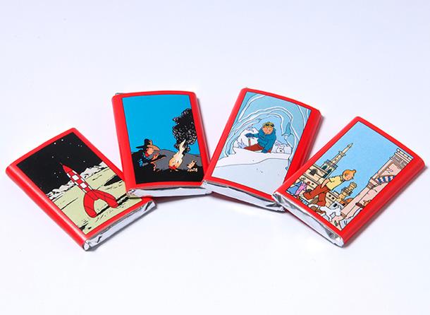 Boite de chocolat Jeff de Bruges Tintin Tablet11
