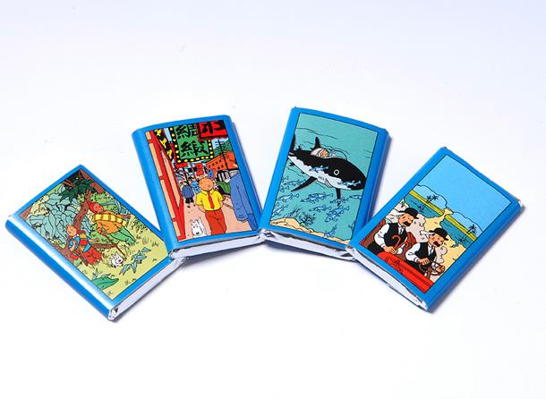 Boite de chocolat Jeff de Bruges Tintin Talbet10