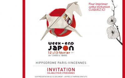 Week-End Japon à Paris-Vincenne 1210-810