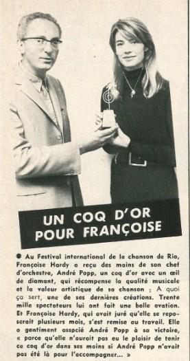 1968 - Festival International de la chanson (Rio) Coq_d_11