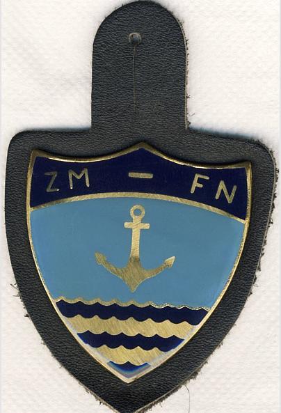 Les insignes portés sur les tenues Blason12