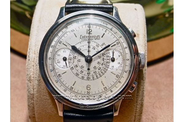 Eberhard Cal 16000 - Eberhard Chronographe vintage Cal 16000 Chrono12