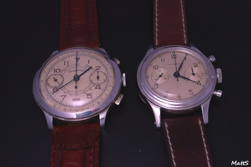 Eberhard Cal 16000 - Eberhard Chronographe vintage Cal 16000 Ebc13z10