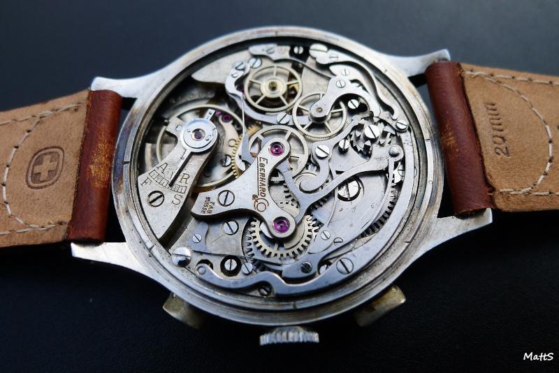 Eberhard Cal 16000 - Eberhard Chronographe vintage Cal 16000 Ebcc1211