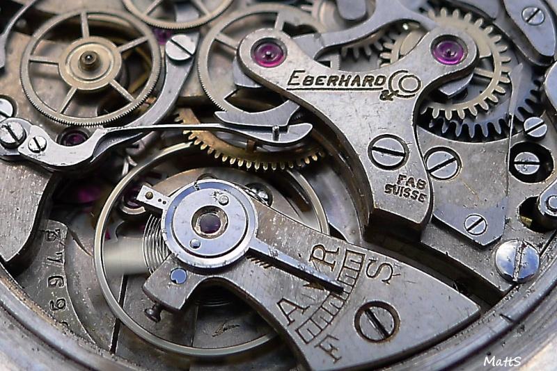 Eberhard Cal 16000 - Eberhard Chronographe vintage Cal 16000 Ebcc1310