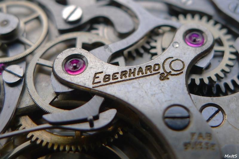 Eberhard Cal 16000 - Eberhard Chronographe vintage Cal 16000 Ebcc1411