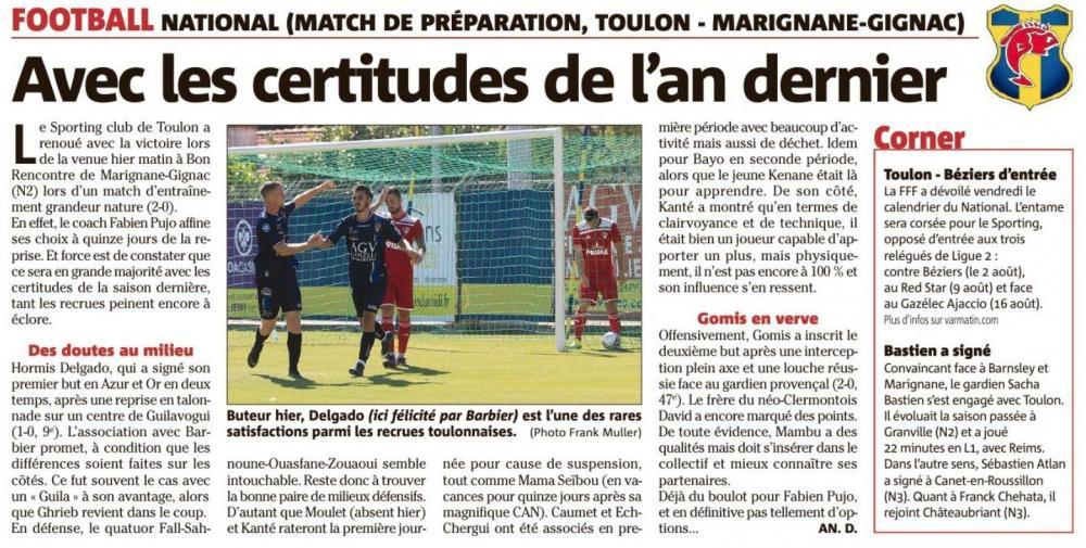 SC Toulon - Marignane Gignac FC Vm_thu12