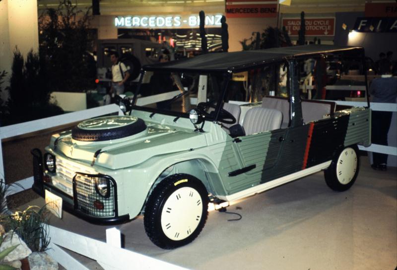 "Citroën  ""Aventure""  2CV VISA MEHARI A4X4  ACADIANE  C25  Leroy-68"