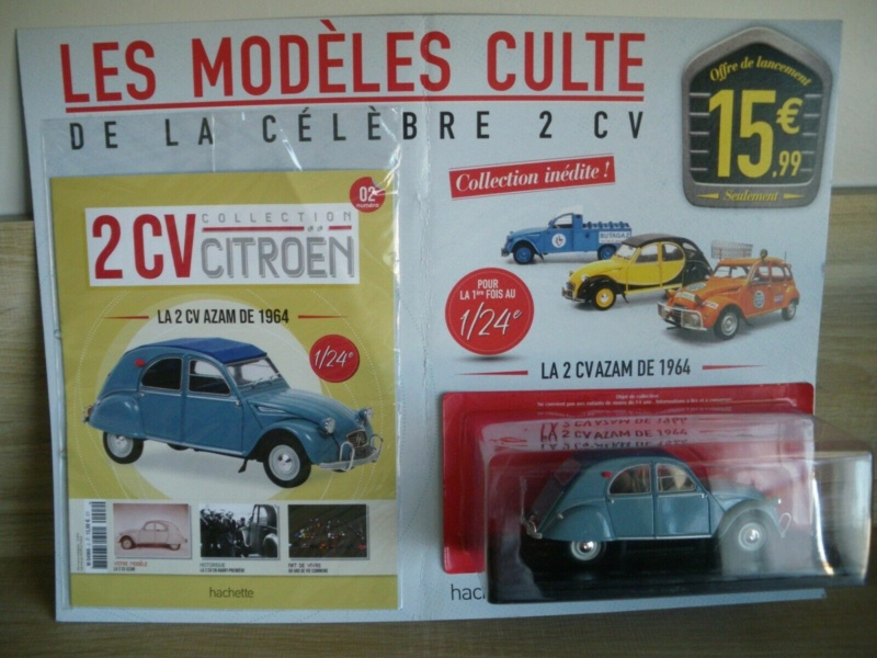 (test) collection 2cv 1/24 Modele10