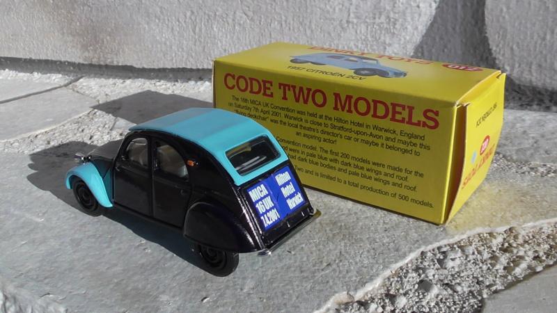 2CV DINKY CODE 2 S4230010