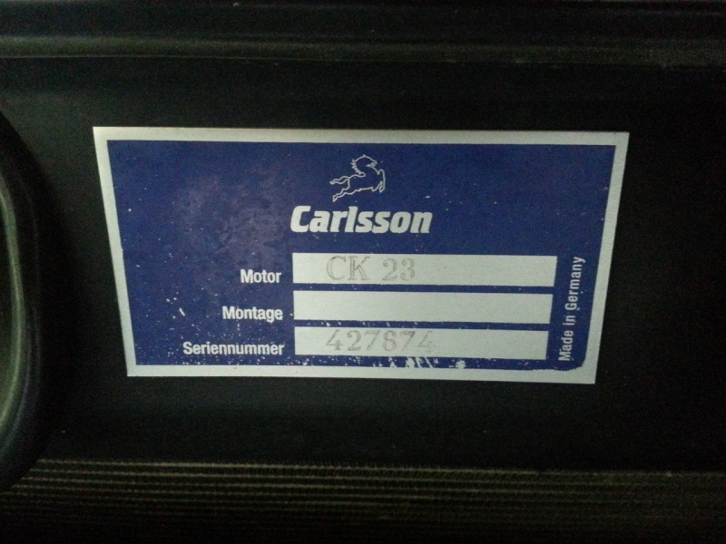 Carlsson CK23 à vendre 20130612