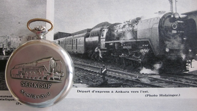 Molnija Serkisof de cheminot turc. 00411