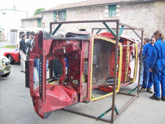 Restauration d'une Renault 17 TL Découvrable de 1973 00191010