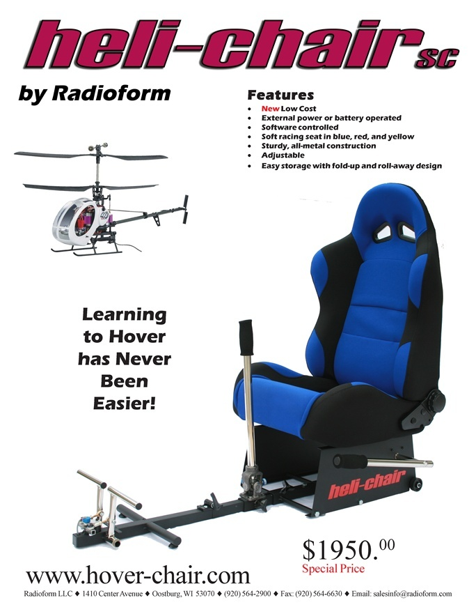 Héli-chair : une nouvelle façon de piloter Heli-c11