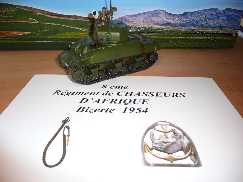 Mon dernier Sherman M4A1 76mm frein de bouche au 8éme Rég. de Chasseurs d'Afrique -Bizerte 1954 P1040723