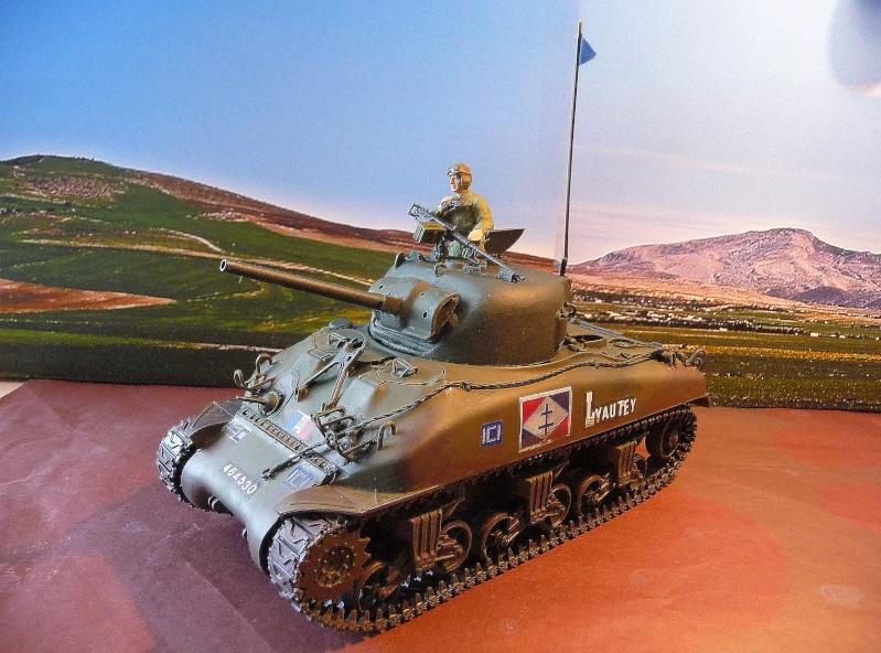 """2éme CUIR- Sherman """"LYAUTEY"""" char de commandement du Col.DUROSOY P1040811"""