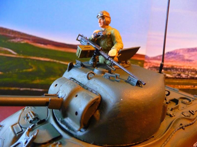 """2éme CUIR- Sherman """"LYAUTEY"""" char de commandement du Col.DUROSOY P1040812"""