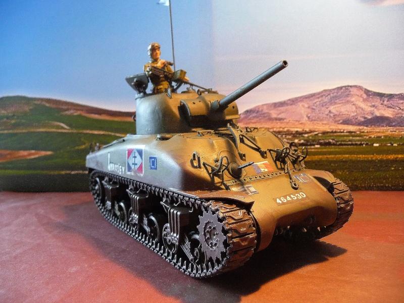 """2éme CUIR- Sherman """"LYAUTEY"""" char de commandement du Col.DUROSOY P1040813"""
