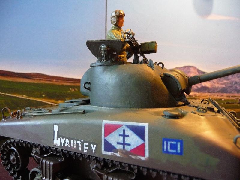 """2éme CUIR- Sherman """"LYAUTEY"""" char de commandement du Col.DUROSOY P1040815"""
