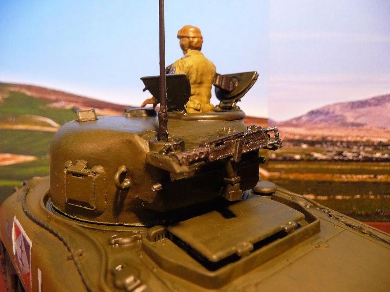"""2éme CUIR- Sherman """"LYAUTEY"""" char de commandement du Col.DUROSOY P1040818"""
