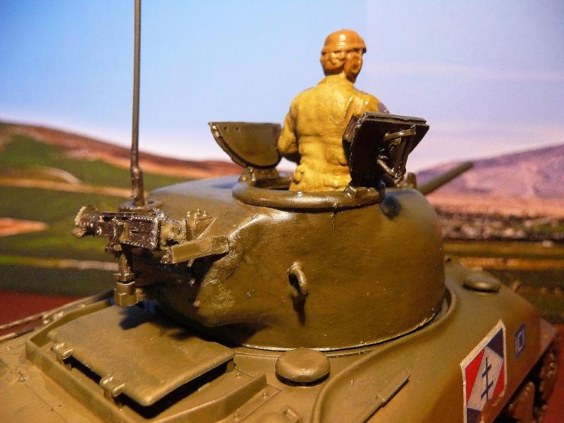 """2éme CUIR- Sherman """"LYAUTEY"""" char de commandement du Col.DUROSOY P1040819"""
