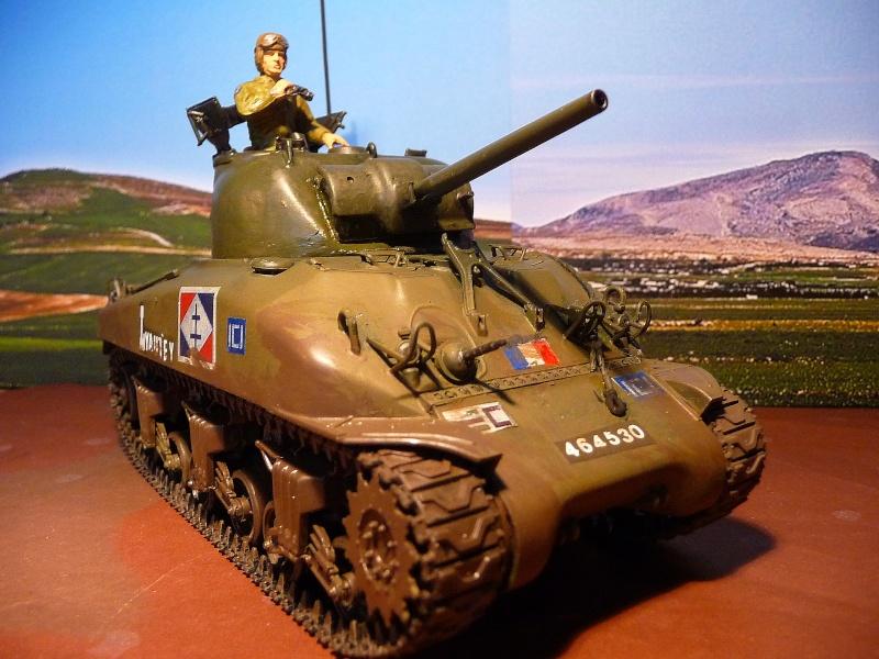 """2éme CUIR- Sherman """"LYAUTEY"""" char de commandement du Col.DUROSOY P1040821"""