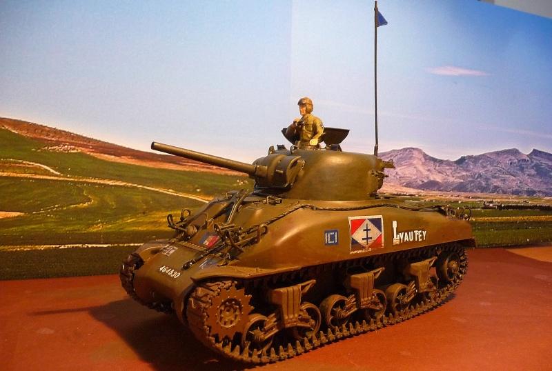 """2éme CUIR- Sherman """"LYAUTEY"""" char de commandement du Col.DUROSOY P1040822"""