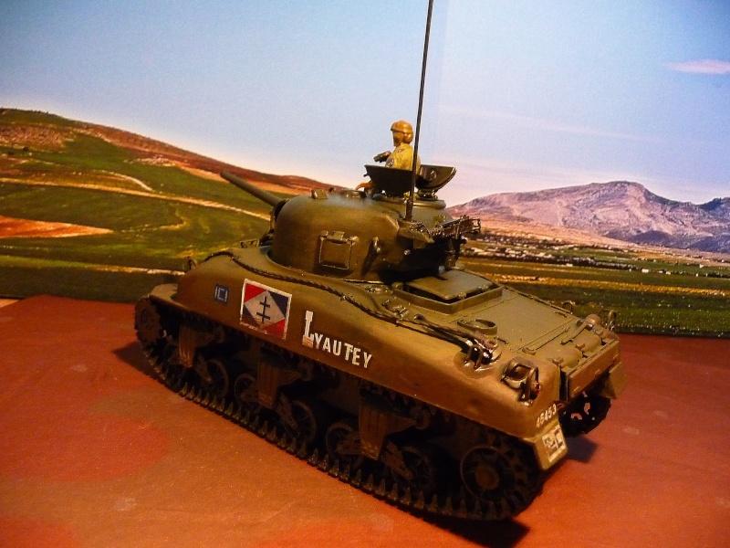 """2éme CUIR- Sherman """"LYAUTEY"""" char de commandement du Col.DUROSOY P1040823"""