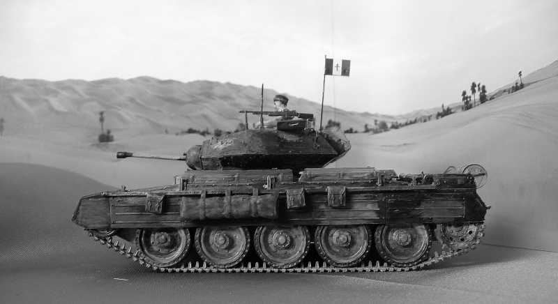 LYBIE & TUNISIE - 1942/43- 1ére Compagnie de Chars F.F.L. - CRUSADER II A 15 Cruise Mark VI - canon de 2pdr P1040827