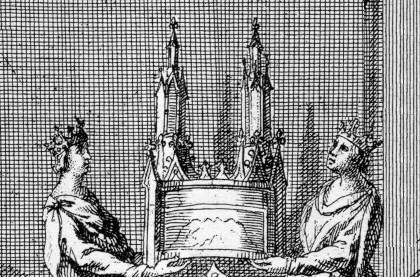 Description des piéces de la planche III de Félibien   - Page 2 Tresor15