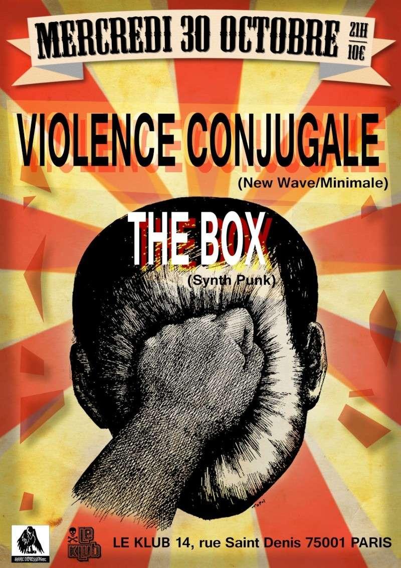 [30.10.2013] Violence Conjugale + The Box @ Paris (Klub) Violen10