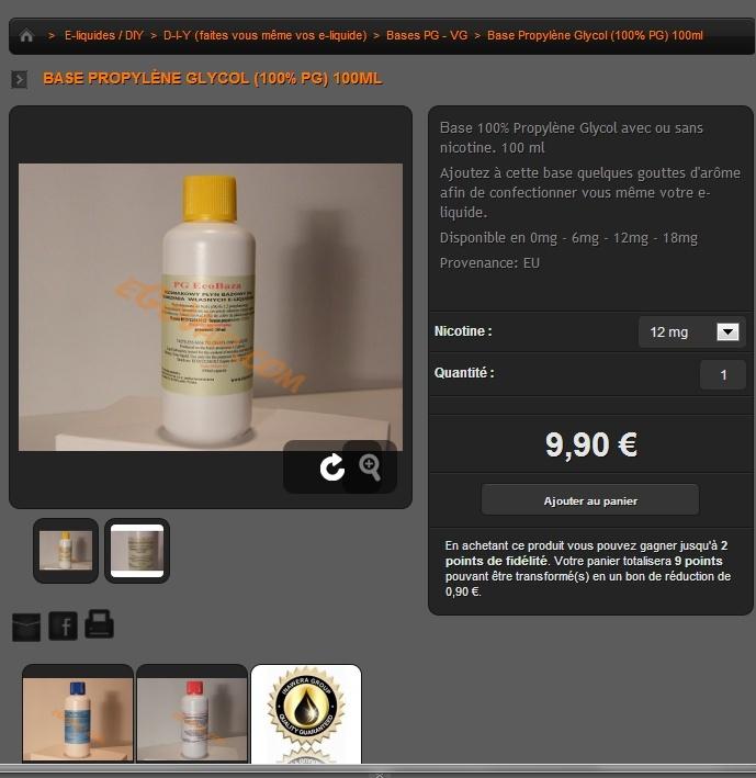 Faire son e-liquide soi même (DIY) Pg10