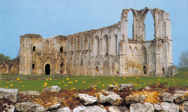 Balade en Poitou-Charentes Abbaye10