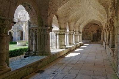 Balade en Poitou-Charentes Abbaye11