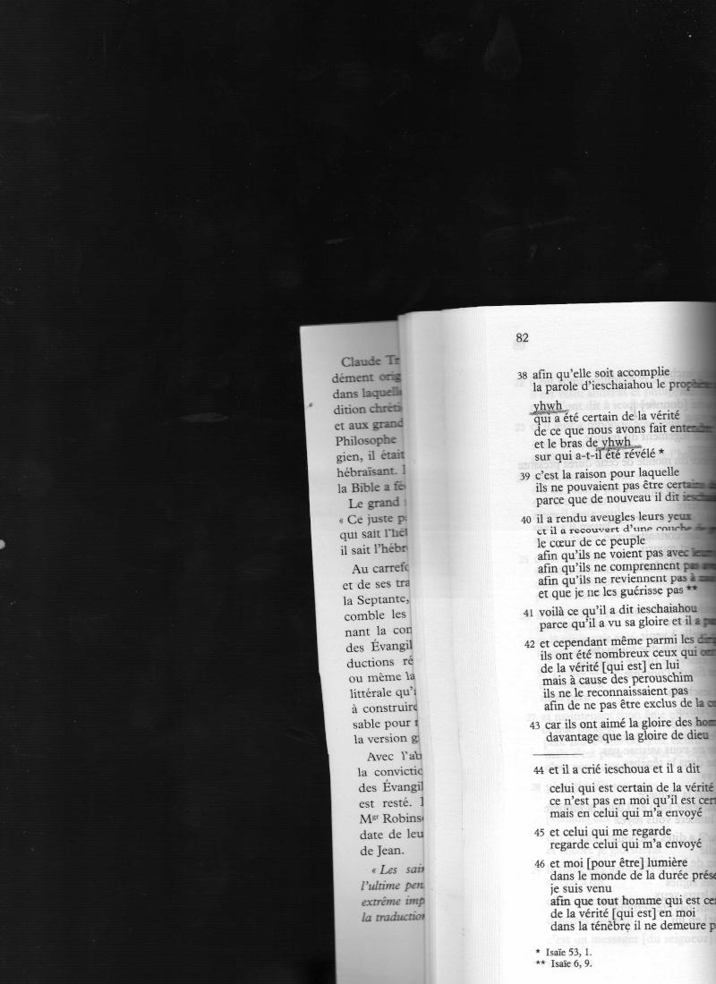Pourquoi Jehovah dans le NT est une insulte à la foi chrétienne ? - Page 12 Img05410