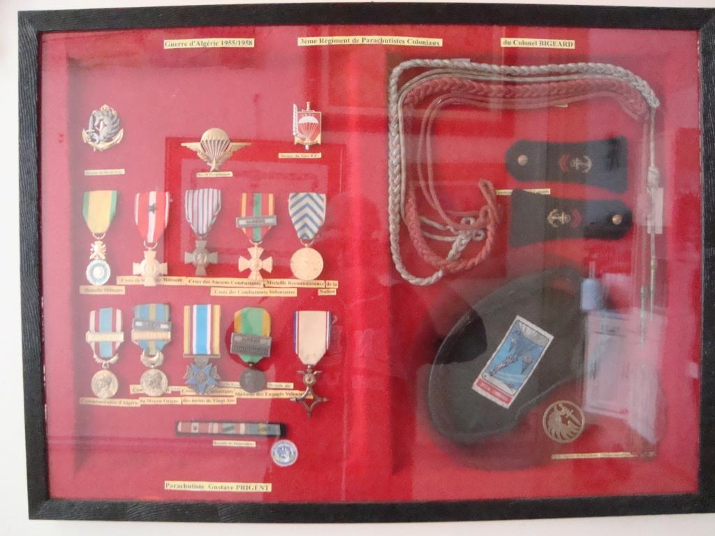 """Albert  Bernard """" dit Beauté"""" recevant la croix de Chevalier de l'Ordre Nationale du Mérite... Mes_in10"""
